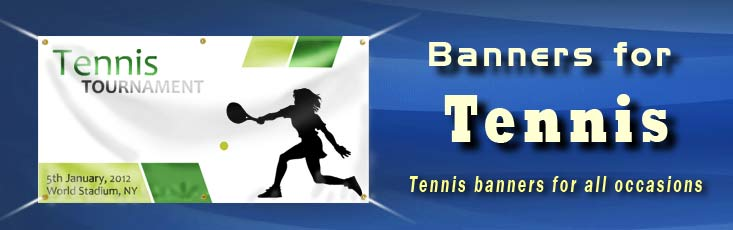 Tennis-banners